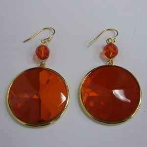 Amber Inspired Earrings